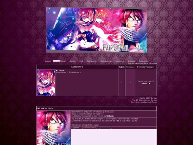 Fairy Tail - Violet - Libre ♪