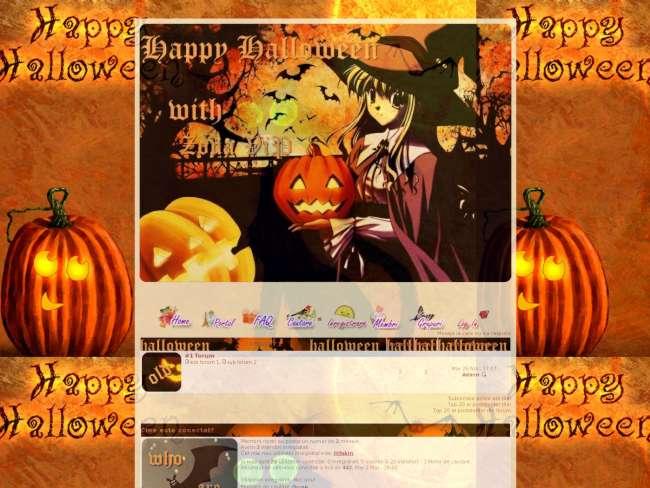 Happy halloween with z...