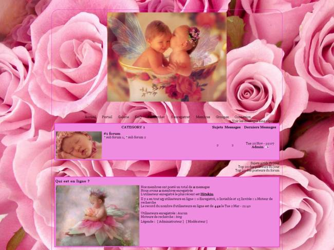 Bébé Rose de Angeline