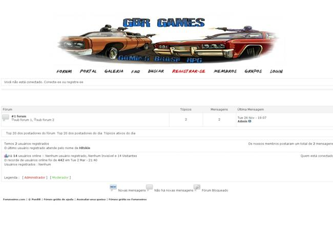 GBR - Games