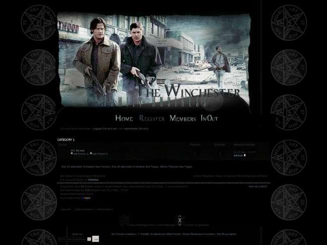 The winchester family ...
