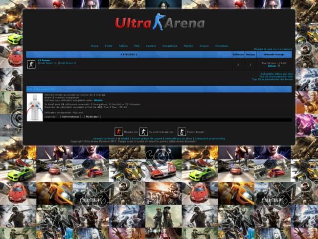 Ultra-Arena oficial theme