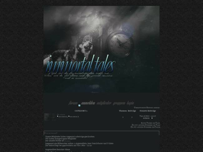 "mod. ""immortal tales"" by BrokenPride"