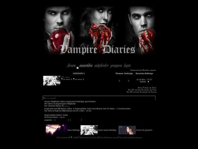 Vampire diaries style
