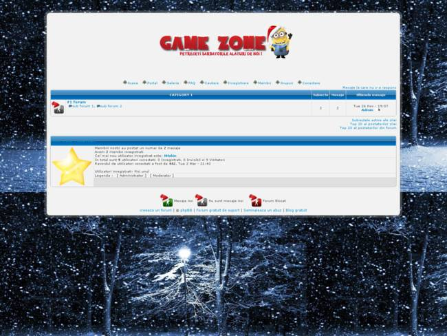 Game-Zone ~ Merry Christmas