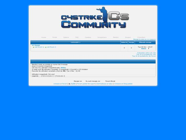 C4Strike Theme Blue