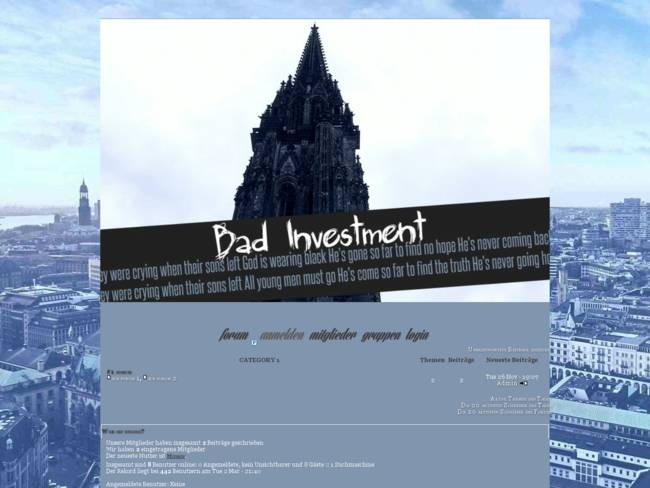 BadInvestment
