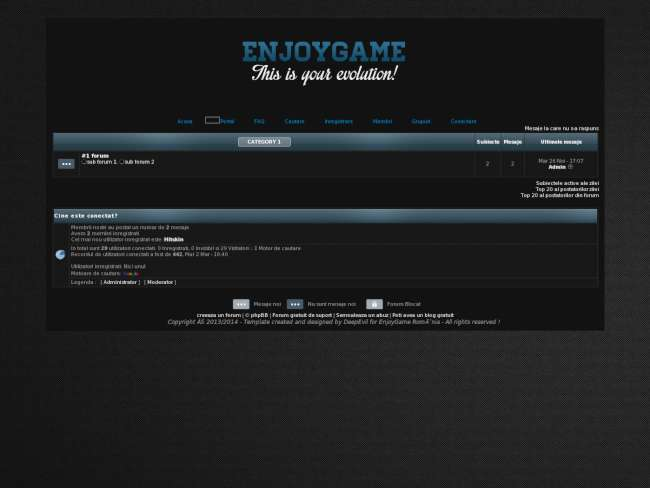 Enjoygame v2.0 (2014)