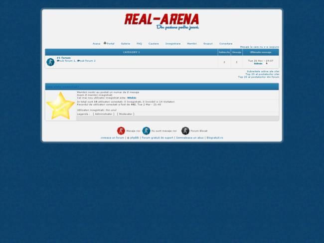 Real-Arena.Com # White & Blue