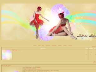 Thème danseuse rouge