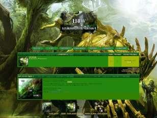 Gw2 sylvari forêt et n...