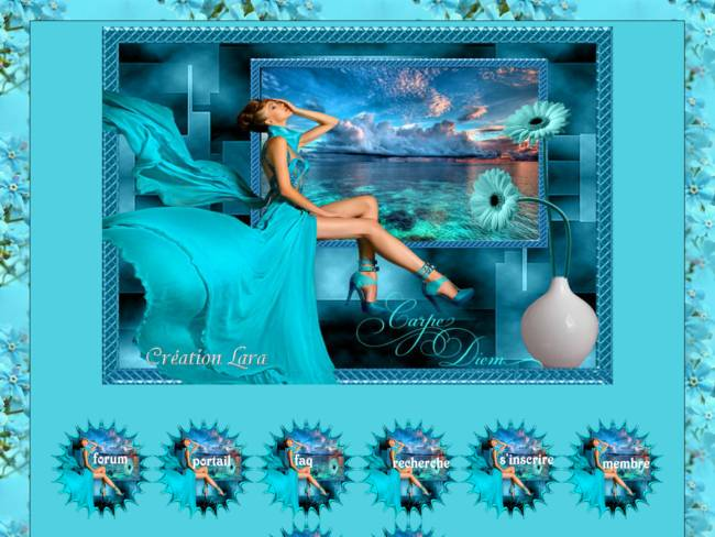 La vie en turquoise