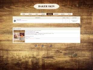 Baker skin