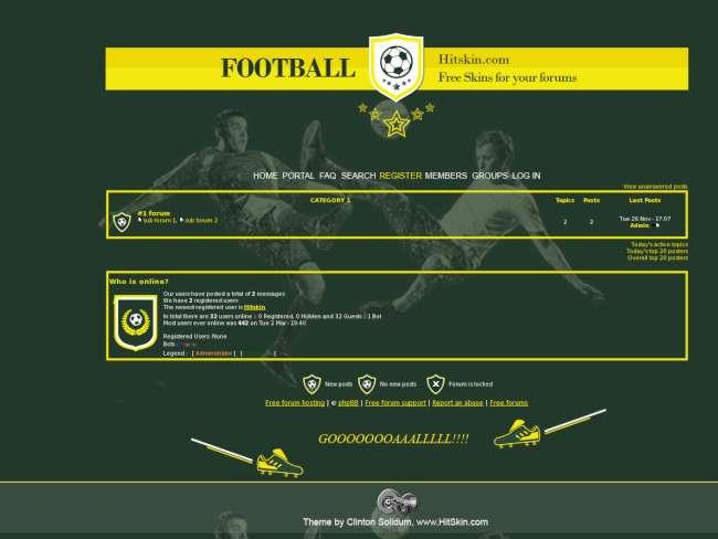 Football skin