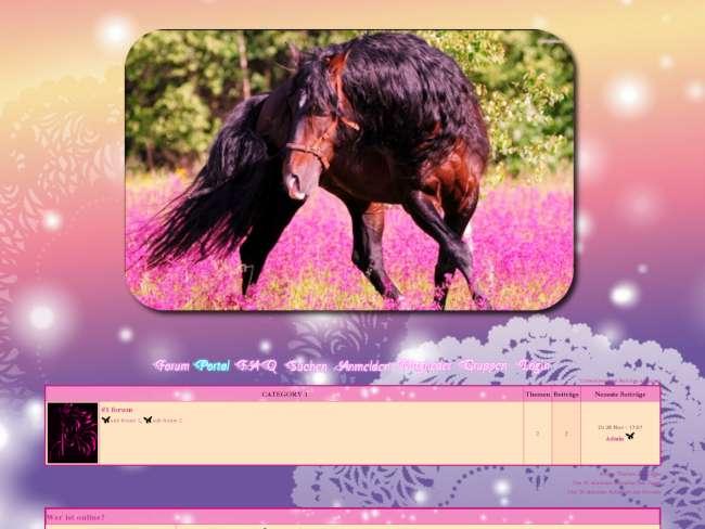 Pferde - frühling 2014
