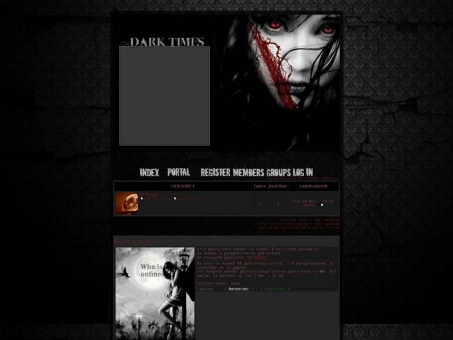 Dark Times black