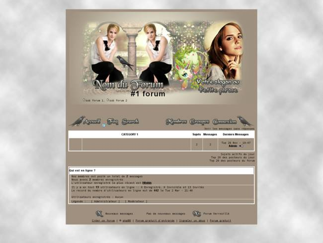 Emma Watson gris