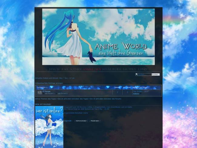 Anime World - Blue Sea
