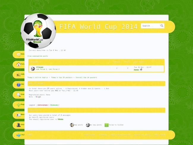 Fifa WorldCup || Brasil 2014