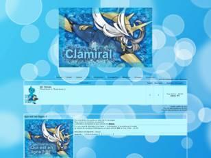 Pokémon - clamiral