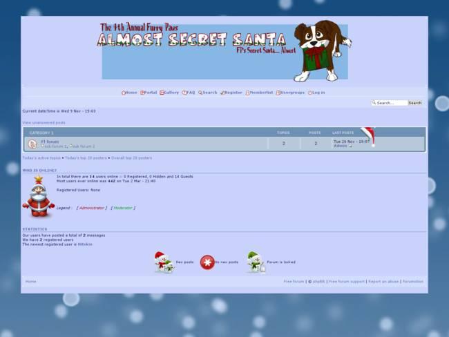 Almost Secret Santa