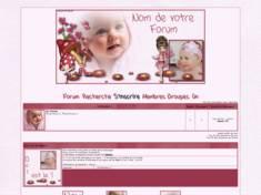 Thème bébé rose
