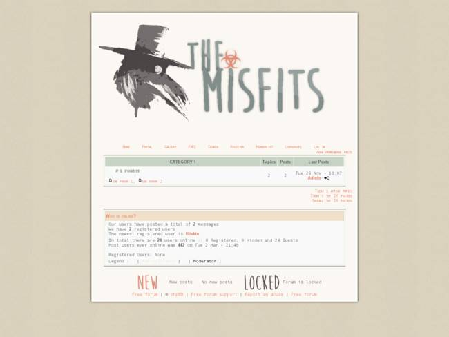 THE MISFITS V1.0  Preview