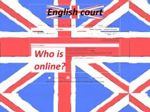 Cour anglais