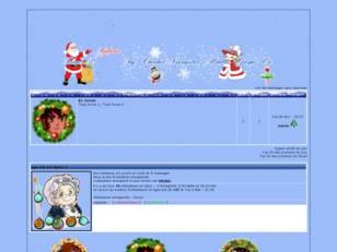 Noël blanc manga