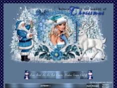 Noël en bleu 2014