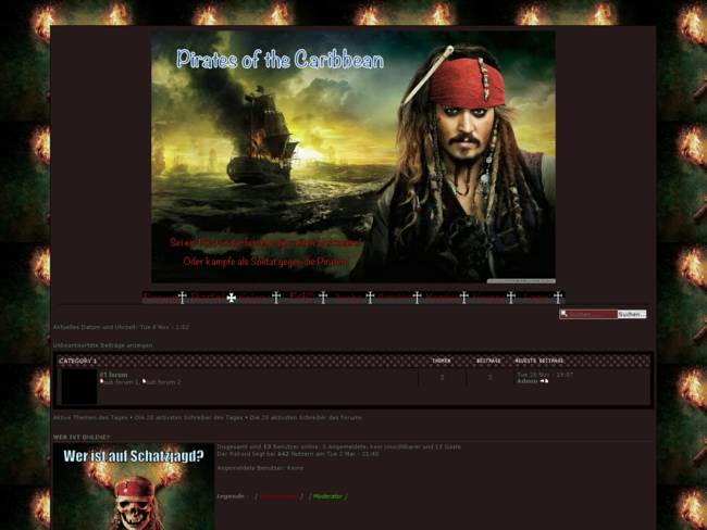 Pirates of the Caribbean - Style