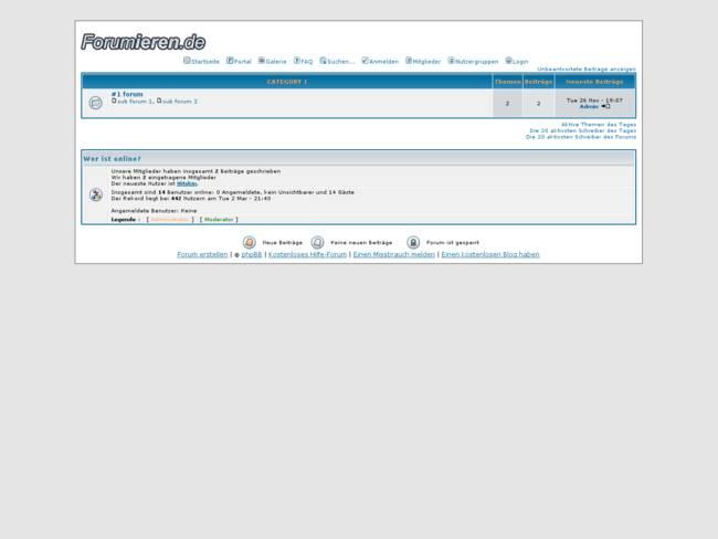 phpBB2 Subsilver  Deutsch