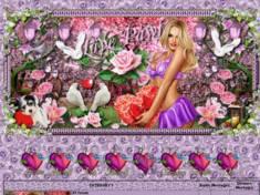La belle saint valentin