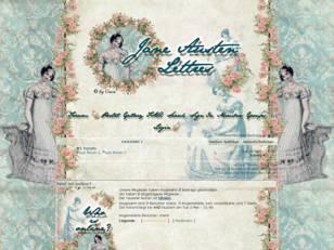 Jane austen lettres