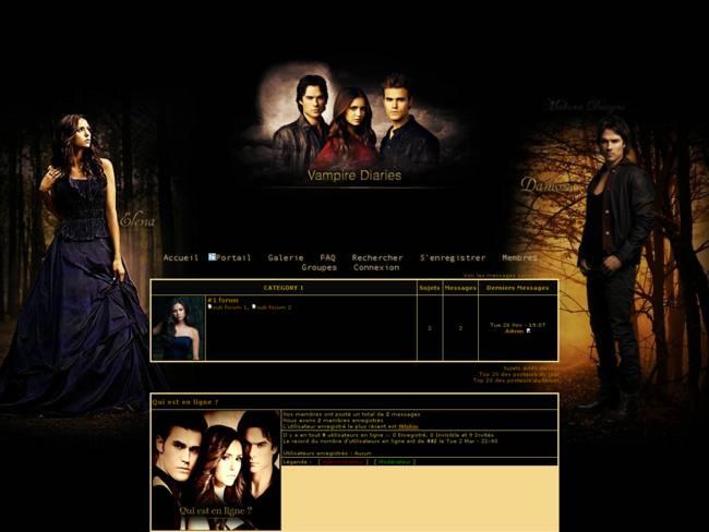 Vampire diaries black