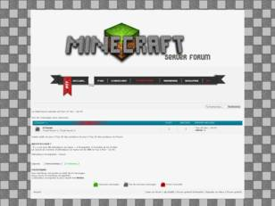 Th�me forum Minecraft