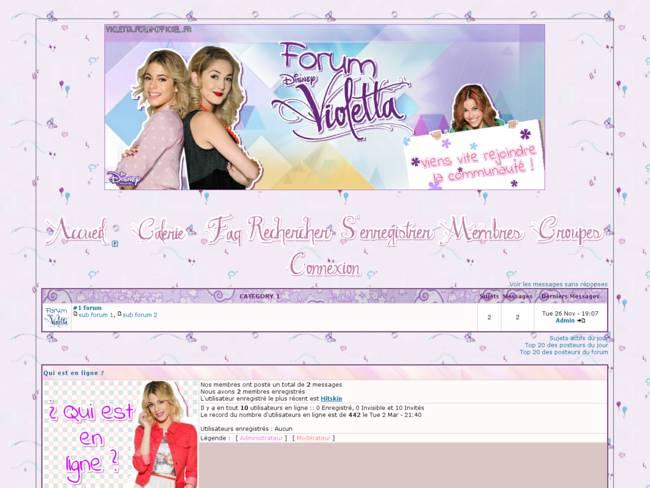 Violetta non libre !