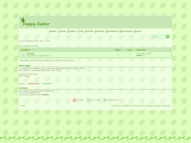 Prosilver Easter