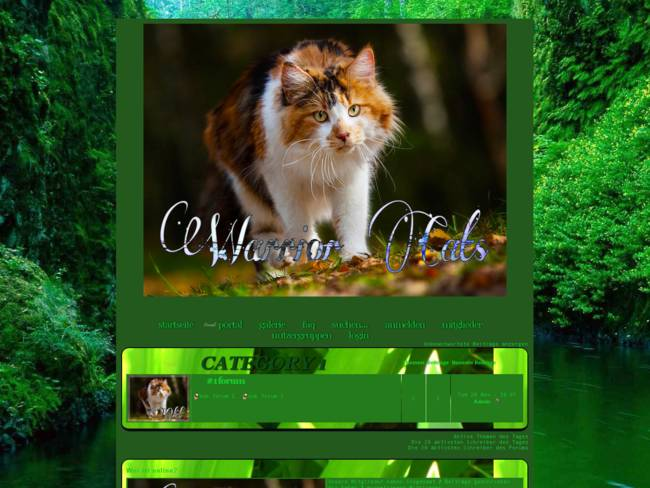 Warrior Cats Style grün