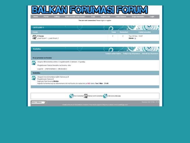 BalkanForumasi