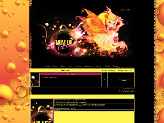 Winx Theme Foxy