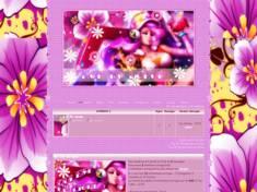 Pink theme foxy
