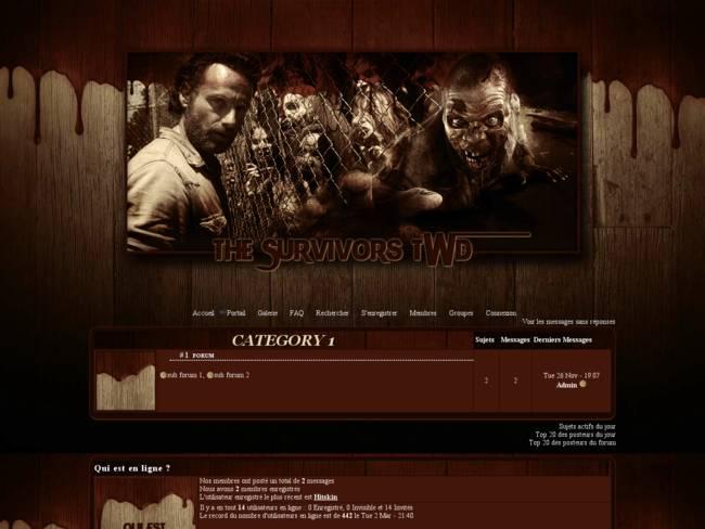 The Survivors TWD