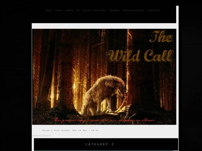 The Wild Call