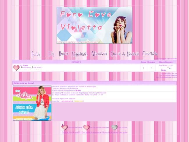 Violetta Forum