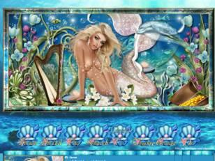 Sirène blonde