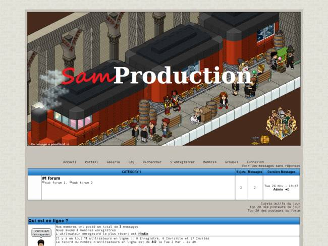 Samproduction V.3