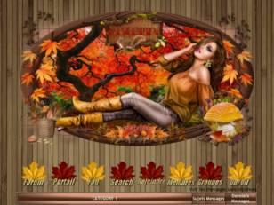 La dame de l'automne