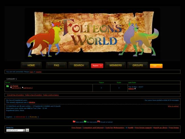Folteon\'s World