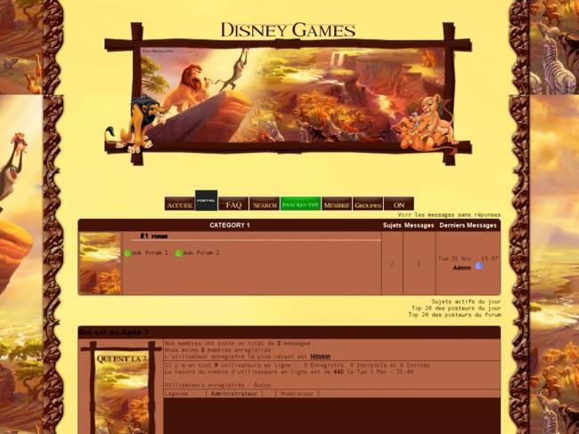 Disney Games V2